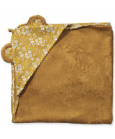Mustard baby towel