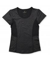 Black leo t-shirt - adult