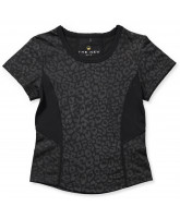 Black leo t-shirt