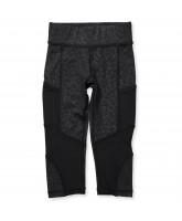 Black leo 3/4 leggings
