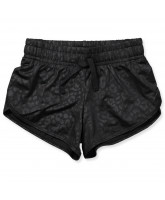 Black leo shorts