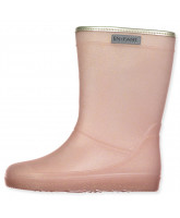 Rose glitter wellies