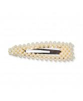 Pearl hair clip - 9 cm