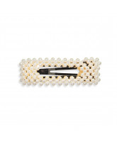 Pearl hair clip - 8 cm
