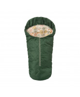 Green sleeping bag for mouse