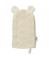 Organic cream washcloth