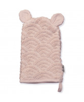 Organic rose washcloth