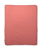 Organic rose changing cushion