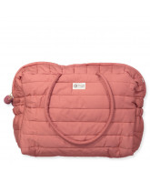Organic quilted bag