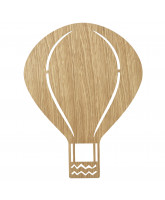 Air Balloon lamp - oiled oak