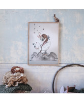 Miss Edda poster - 50x70 cm