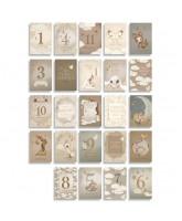 Milestone Cards - 24 psc