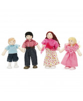 Budkin 4 pack doll family