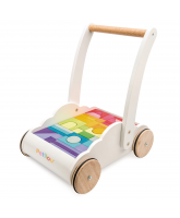 Petilou baby walker with blocks