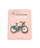 Enamel pin - bike