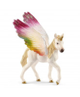 Winged rainbow unicorn - foal