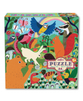 Puzzle 64 pcs - busy meadow