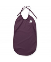 Dark purple bib