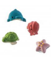 Bathing set with sea animals