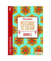 Postcards to Colour - animals