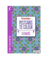 Postcards to Colour - flowers