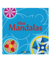 Mini Mandalas - blue