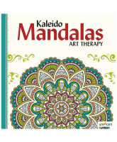 Kaleido Mandalas Art Therapy - white