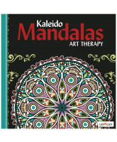 Kaleido Mandalas Art Therapy - black
