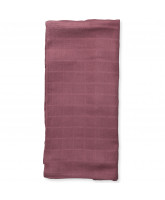 Organic plum muslin cloth