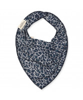 Darkest blue leo bib