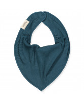 Oily blue rib bib