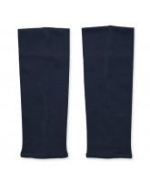 Deep navy leg warmers