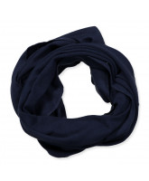 Deep Navy tube scarf