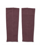 Dark heather leg warmers