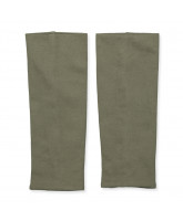 Dusty olive leg warmers