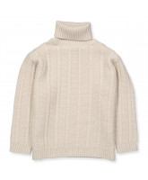 Cream wool sweater