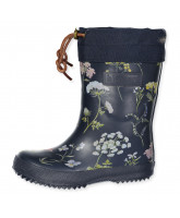 Flowered thermo boots