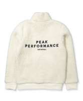 Cream fleece jacket