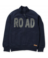 Road zip sweat