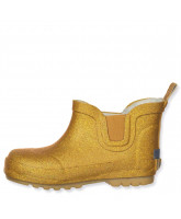 Gold winter wellies
