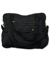 Black nursing bag