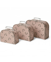 3 pack poppin suitcases