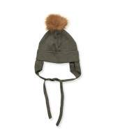 Army wool baby hat