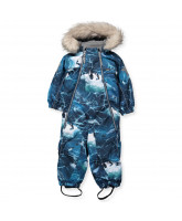 Pyxis snowsuit with fur