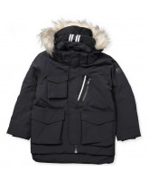 Parker winter jacket with fur