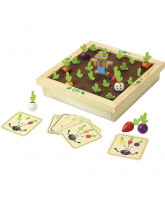 Memory game - Vegetables garden