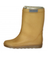 Gold thermo boots