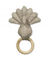 Organic Peacock rattle