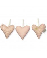 Organic 3 pack hearts