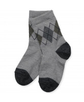 Grey wool socks